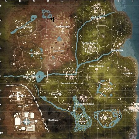 World map - Ashes of Creation Wiki